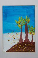 Артизанова Елизавета Андреевна (11 лет) «Осенние деревья»