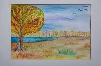 Чебыкина Мария Алексеевна (13 лет) «Лишь небо осенью дышало»
