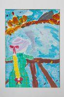 Мелехина Анастасия Сергеевна (10 лет) «Размышления у воды осенью»