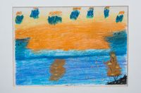 Ляпустина Анастасия Николаевна (7 лет) «Осенний закат»