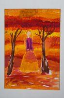 Подкина Мария Олеговна (9 лет) «Девушка-осень»