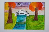 Низамова Арина Азизовна (9 лет) «Красивая осень»